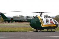 Photo: Great North Air Ambulance, Bolkow BO105, G-WAAN