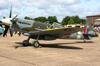 Photo: Royal Air Force, Supermarine Spitfire, SM845
