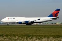 Photo: Delta Air Lines, Boeing 747-400, N665US