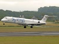 Photo: Sky Wings Airlines, McDonnell Douglas MD-80, SX-BSW