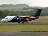 Photo: Titan Airways, British Aerospace BAe 146-200, G-ZAPN
