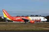 Photo: VietJet Air, Airbus A320, SX-OAT