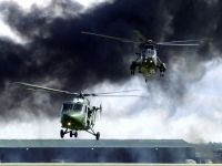 Photo: Royal Marines, Westland Lynx, ZF538