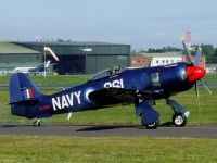 Photo: Privately owned, Hawker Fury, G-CBEL