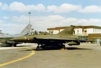 Photo: Denmark - Air Force, Saab J35 Draken, AT-156