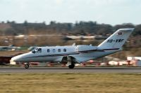 Photo: Privately owned, Cessna Citation, HB-VWF