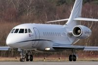 Photo: Privately owned, Dassault Falcon 2000, LX-ATD