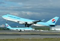 Photo: Korean Air, Boeing 747-400, HL7400