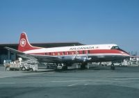 Photo: Air Canada, Vickers Viscount 700, CF-TGT