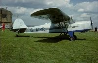 Photo: Privately owned, Auster J4, G-AIPR