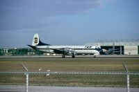 Photo: TAN Airlines, Lockheed L-188 Electra, HR-TNN