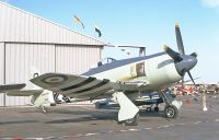 Photo: Royal Navy, Hawker Sea Fury, N232