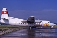 Photo: Sunshine, Fokker F27 Friendship, HB-ISH