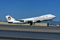 Photo: America West Airlines, Boeing 747-200, N533AW
