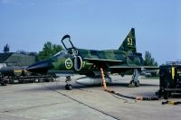 Photo: Swedish Air Force, Saab JA37 Viggen, 53