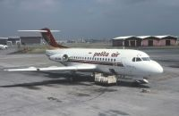 Photo: Pelita Air, Fokker F28, PK-PJU