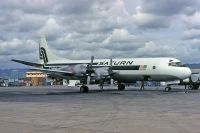 Photo: Saturn Airlines, Lockheed L-188 Electra, N854U