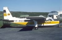 Photo: Vaengir, Britten-Norman BN-2A Islander, TF-RED