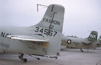 Photo: United States Navy, Douglas A-1 Skyraider, 134567
