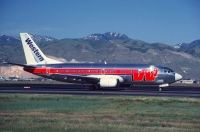 Photo: Western Airlines, Boeing 737-300, N307WA