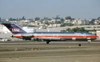 Photo: USAir, Boeing 727-200, N747US
