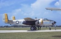 Photo: United States Air Force, North American B-25 Mitchell, NL91672