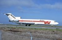 Photo: Western Airlines, Boeing 727-200, N2825W