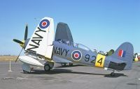 Photo: Royal Navy, Hawker Sea Fury, N924G