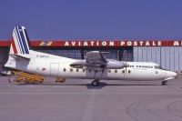 Photo: Air France Aviation Postale, Fokker F27 Friendship, F-BPUC