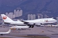 Photo: Japan Airlines - JAL, Boeing 747-400, JA8910
