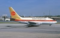 Photo: Continental Airlines, Boeing 737-100, N402PE