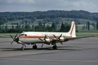 Photo: Transair Sweden, Douglas DC-7, SE-ERG