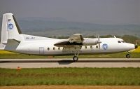 Photo: United Nations, Fokker F27 Friendship, HB-AAZ