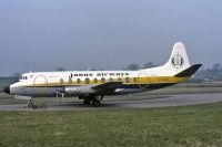Photo: Janus Airways, Vickers Viscount 700, G-BDRC