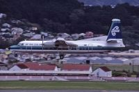 Photo: Air New Zealand, Fokker F27 Friendship, ZK-NFF