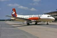 Photo: Air Virginia, Hawker Siddeley HS-748, G-BGJV
