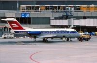 Photo: Germania, Fokker F28, D-AGAB