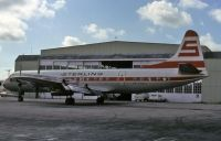 Photo: Sterling European Airlines, Lockheed L-188 Electra, SE-FGC