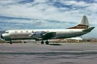 Photo: Western Airlines, Lockheed L-188 Electra, N9745C