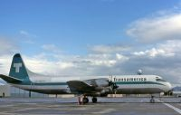 Photo: Transamerica Airlines, Lockheed L-188 Electra, N857U