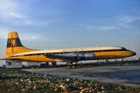 Photo: Monarch Airlines, Bristol Britannia 310, G-AOVL
