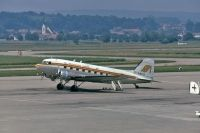 Photo: Macedonian Airlines, Douglas C-47, G-AMPO