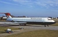 Photo: British Airways, BAC One-Eleven 200, G-BGKE