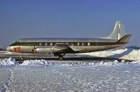 Photo: Tanya Tucker, Vickers Viscount 700, N6598C