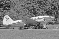 Photo: LASCA, Curtiss C-46 Commando, TI-LRA