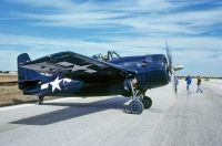 Photo: United States Navy, Grumman FM-2 Wildcat, N11FE