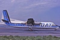 Photo: Delta Air Transport - DAT, Fairchild FH-227, OO-DTE