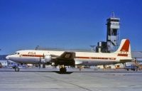 Photo: PSA Airlines, Douglas DC-6, N90768