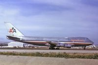 Photo: American Airlines, Boeing 747-100, N9662