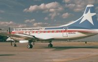 Photo: Texas International Airlines, Convair CV-600, N94216